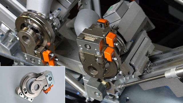 Copy cutter unit with four NC servo-axes as standard feature