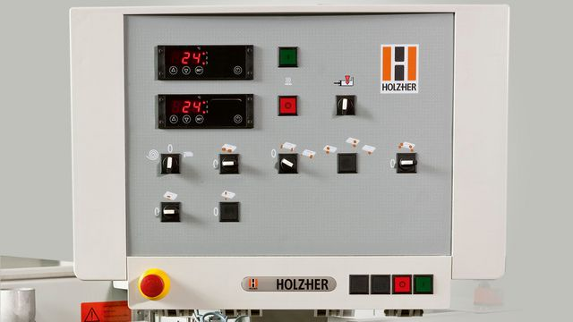 With our clear controls, your HOLZ-HER edgebander is simple to operate intuitively.