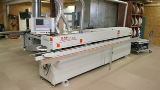 Reference customer for HOLZHER AURIGA 1308 pressure beam saw: Kobe in Reutlingen