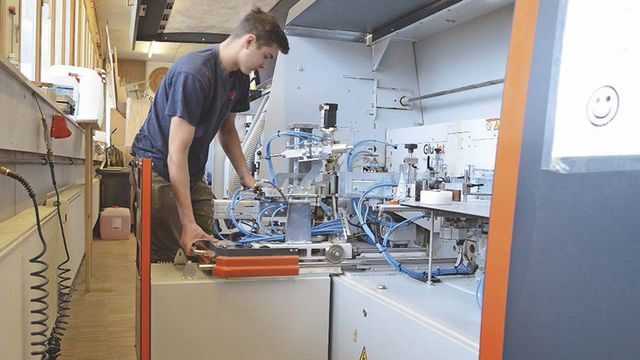 Schreinerei Schmaus from Bad Wurzach is satisfied with its Lumina edge banding machine from HOLZHER