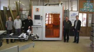 Positive experience with HOLZ-HER machines: 5-axis CNC, edgebanders, 4-side machining