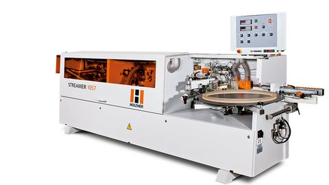 The Streamer 1057 edgebander as entry model for professional edgebanding