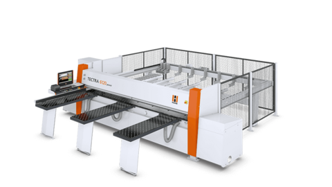The panel saw/beam saw HOLZ-HER TECTRA 6120 dynamic convinces through precision